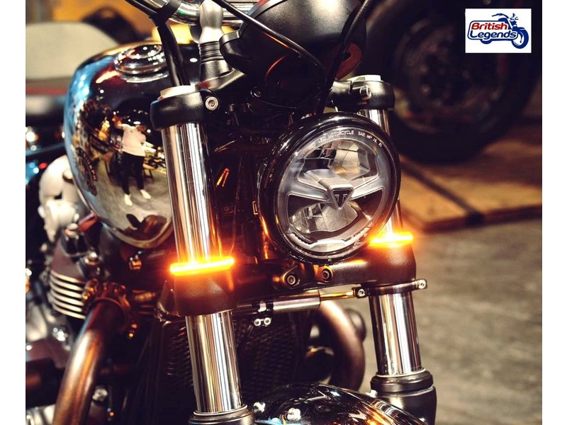 Wrap-Around LED Indicators for Triumph Twins