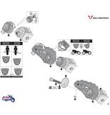 SW-Motech Adjustable Foot Rests Triumph Tiger 800/850/900
