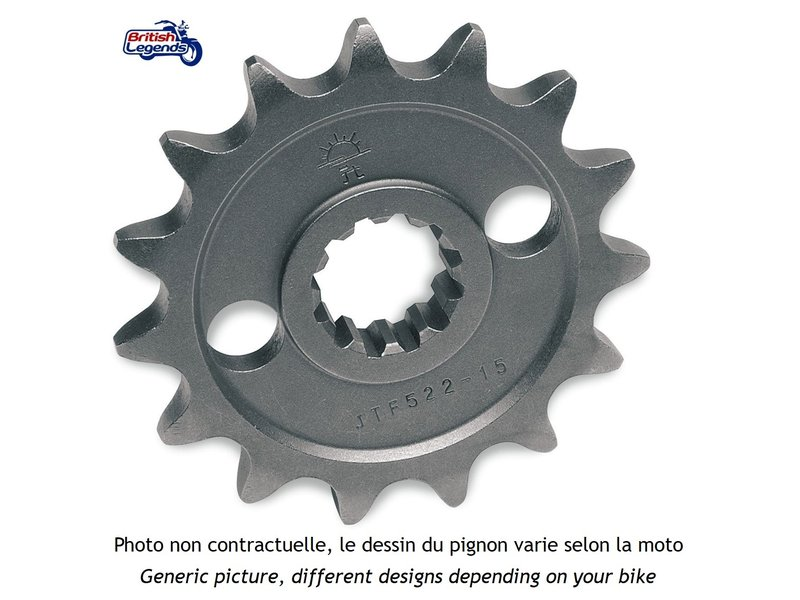 JT Sprockets Replacement Front Sprocket for Triumph Bikes