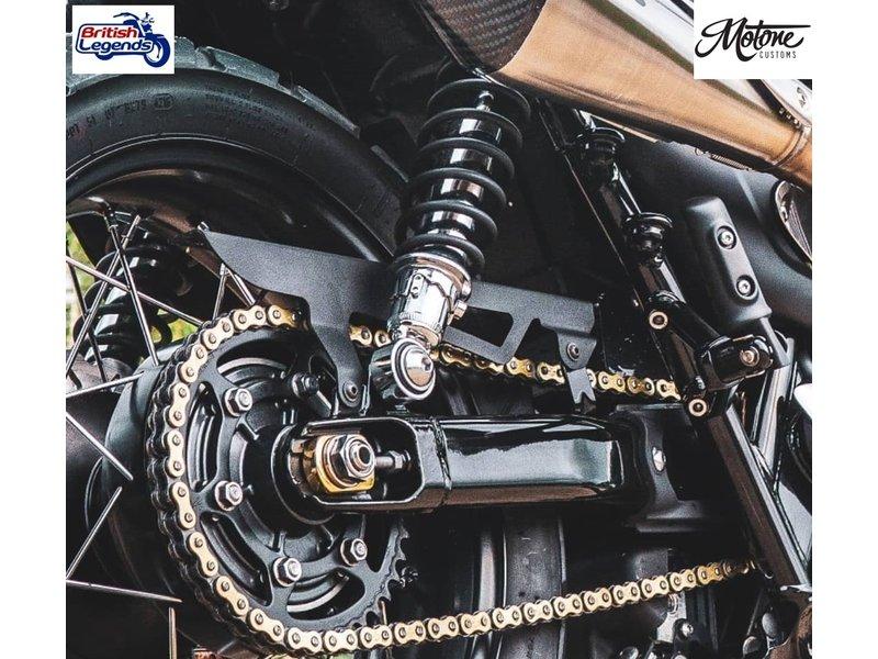 Motone Pare-Chaine Inox pour Triumph Twins 900/1200cc