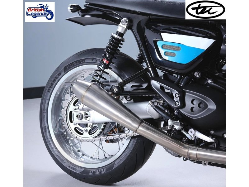 TEC Stainless Steel 2-into-1 for Thruxton + Speed Twin