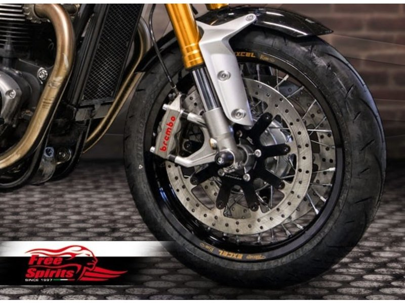 Free Spirits Kit to fit 340mm Brake Discs to your Triumph