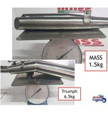 MASS Moto Stainless Full Slip-On Silencers for Scrambler 1200