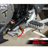 Free Spirits Reclining Foot Controls for Triumph Tiger 850/900