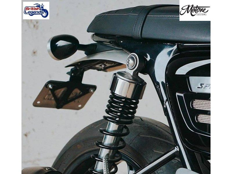 Motone Short License Plate Bracket for Triumph Speed Twin
