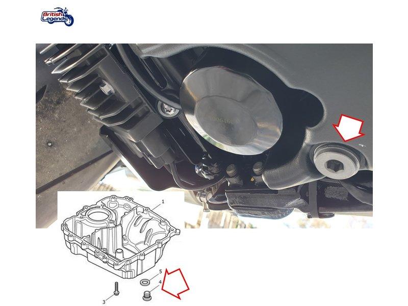 Vis Alliage + Joints en Aluminium pour Vidange
