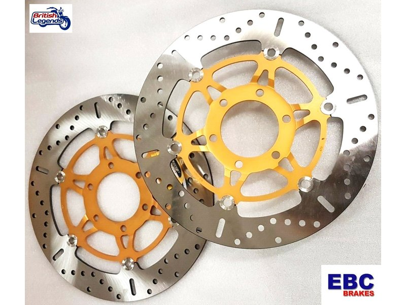 Front Brake Discs for Speed Triple 955/1050