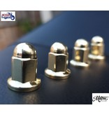 Motone Exhaust Clamp Stud Nuts in Forged Brass