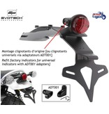 EvoTech Tail Tidy with License Plate Bracket for Scrambler 1200