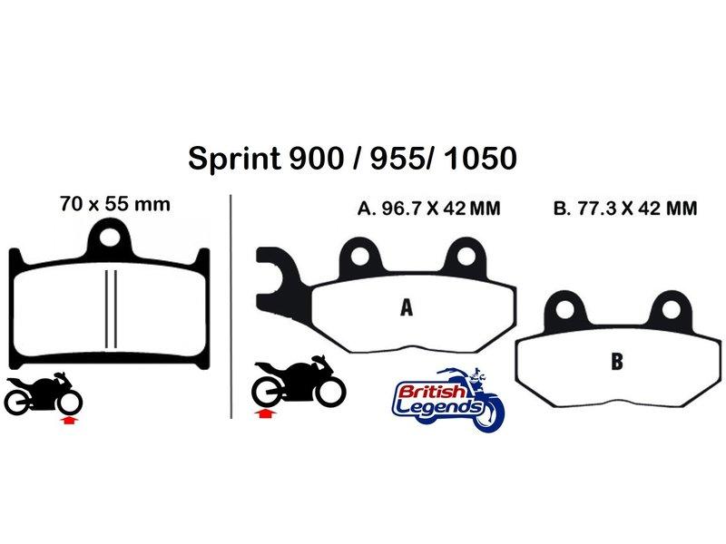 Ferodo Plaquettes Ferodo pour Triumph Sprint