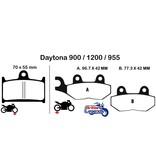 """EBC Plaquettes Sintérisées """"HH"""" Daytona 900/1200/955i"""