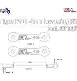 Free Spirits Lowering Kit -20mm for Triumph Tiger