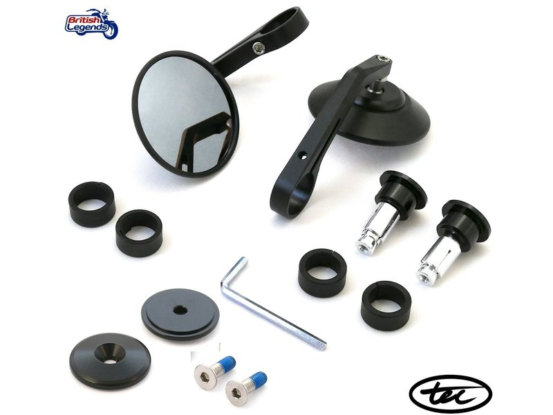 TEC Bar-End Mirrors for Triumph motorcycles