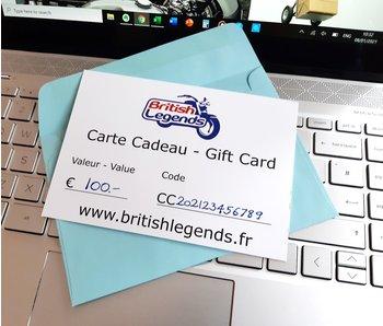 British Legends Gift Card