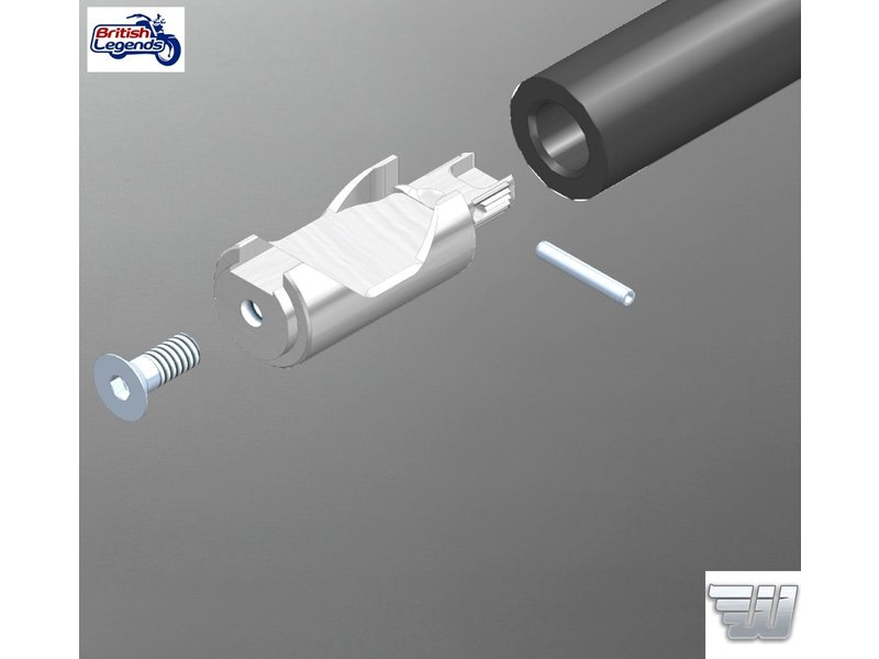 Handlebar Adaptor Kit for Triumph motorcycles