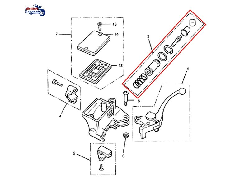 Repair Kit for Clutch Master-Cylinder