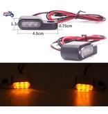 """Clignotants LED """"Mini-Batons"""" (vendus par paire)"""