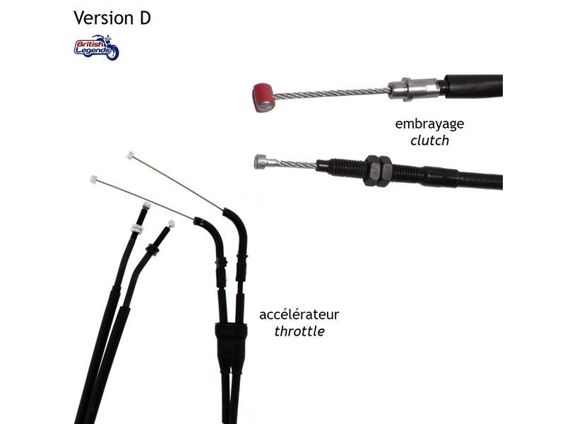Cables de Rechange pour Triumph Speed Triple