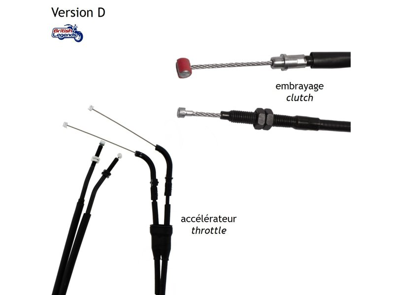 Replacement Cables for Triumph Speed Triple