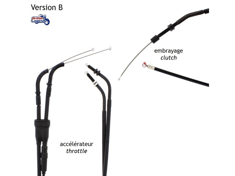 Replacement Cables for Triumph Street Triple