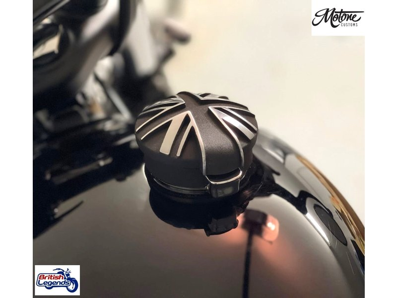 Motone Aston (aka Monza) Fuel Cap for Triumph Motorbikes