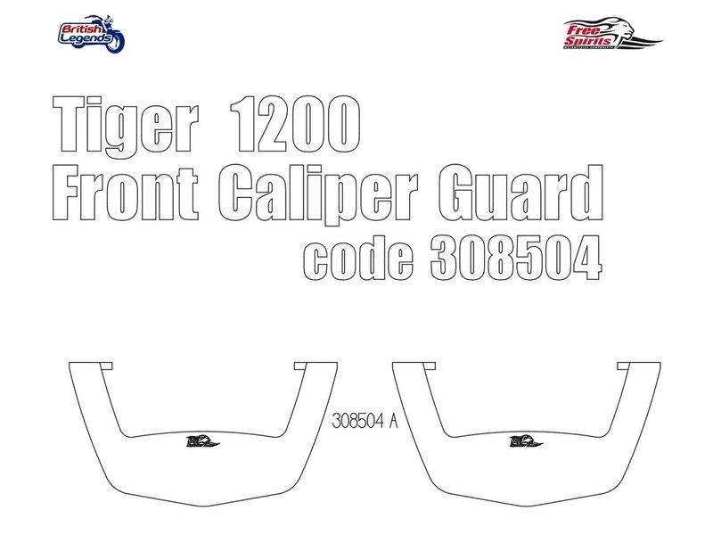 Free Spirits Caliper Crash Protections  for Triumph Tiger 1200