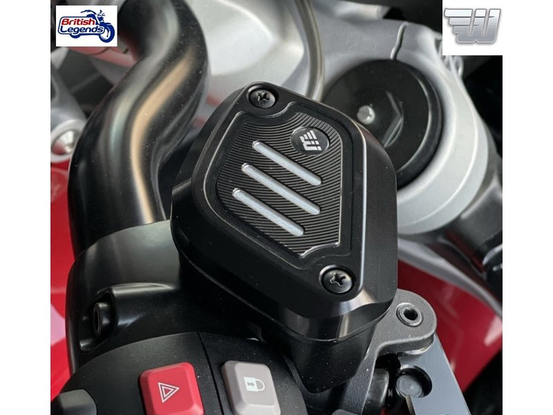 Wunderkind Clutch+Brake Reservoir Covers for Triumph Rocket 3