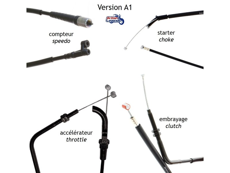 Replacement Cables for Triumph Tiger
