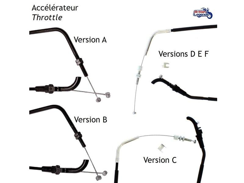 Replacement Cables for Triumph 885cc Triples