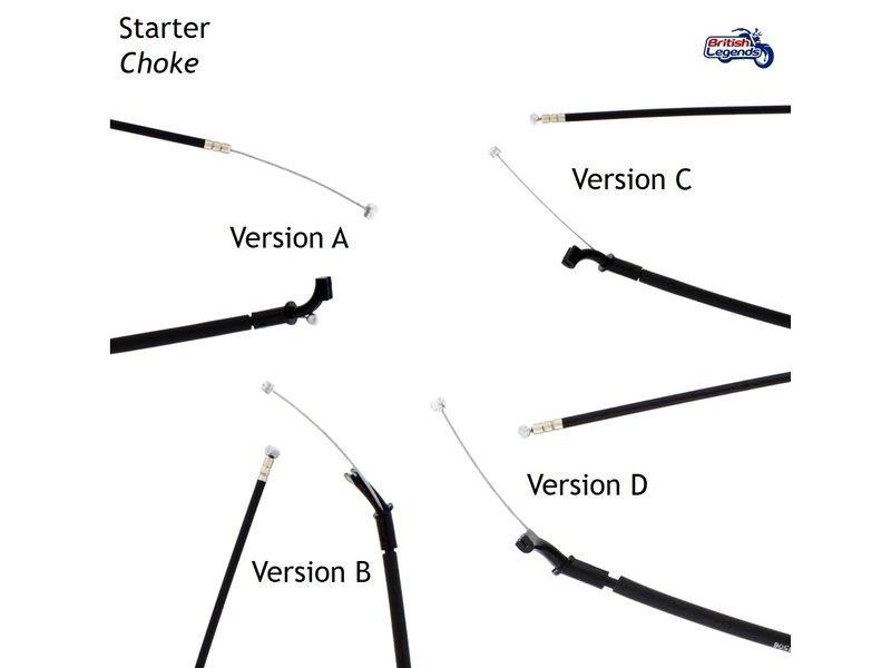 Cables de rechange pour Triumph Triples 885cc