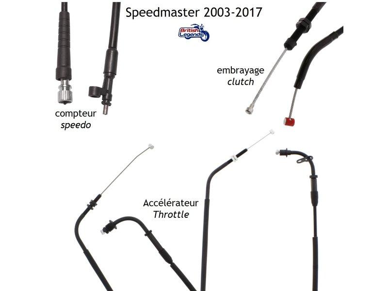 Cables de Rechange pour Triumph Speedmaster