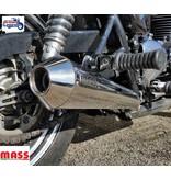 MASS Moto Silencieux Inox pour motos Triumph