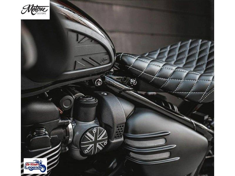 Motone Solid Aluminium Throttle-Body Covers