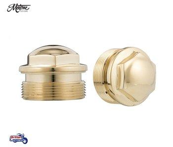 Brass Fork Caps
