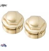 Motone Capuchons de Fourche en Bronze pour Triumph Twins