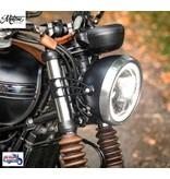 Motone Short Headlight Brackets for Triumph Twins