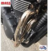 """MASS Moto Ligne Inox """"Tromb"""" pour Bonneville/Thruxton"""