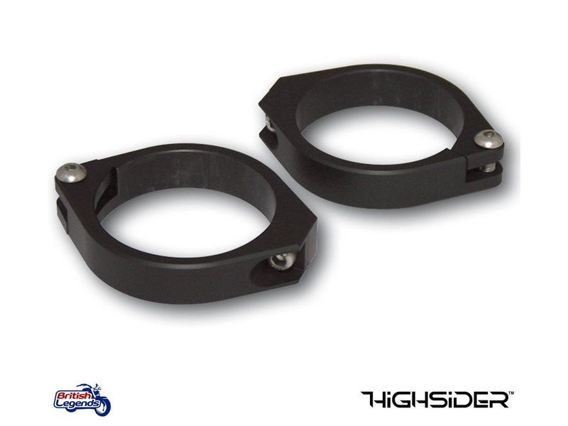 All-Alloy Fork Indicator / Turn Signal Clamps