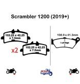 """EBC """"HH"""" Sintered Pads for Triumph Scrambler"""