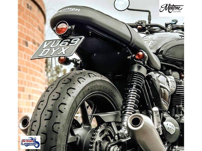 "Motone Rear Indicator Brackets ""Tri-Line"" for Triumph bikes"