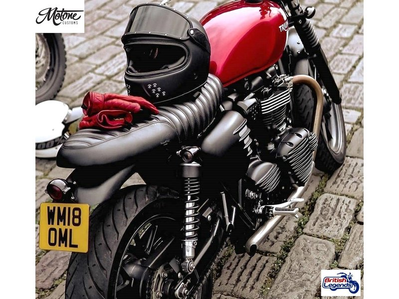 Motone Streamliner Sprocket Cover for Triumph Twins