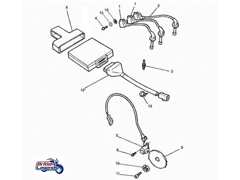 Trigger Coil Crank Position Sensor
