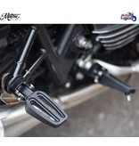 Motone Stainless Steel Footrests for Triumph motorcycles