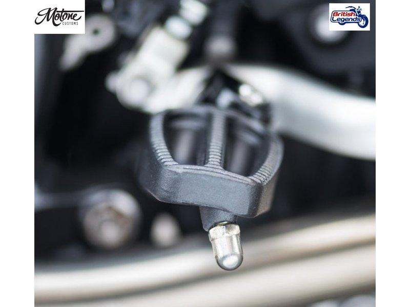 Motone Repose-Pieds en Inox Coulé pour motos Triumph