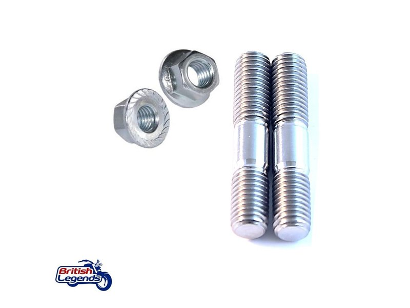 Motone Exhaust Studs for Triumph Motorcycles