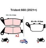 Ferodo Ferodo Brake Pads for Triumph Trident 660