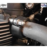 Motone Stainless Steel Exhaust Clamps for Triumph Twins