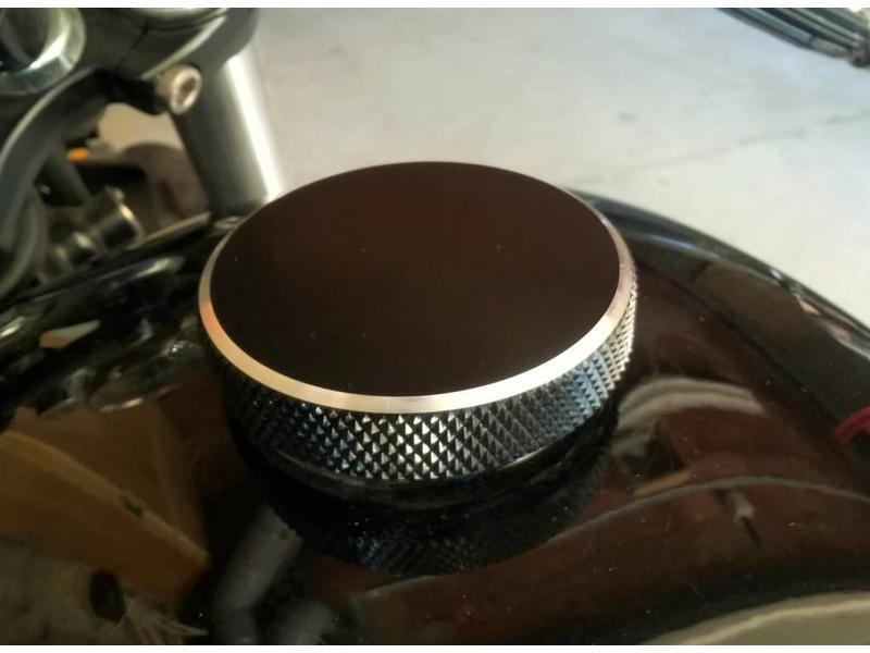 """Motone """"Flat-Track"""" Fuel Cap for Triumph motorbikes"""