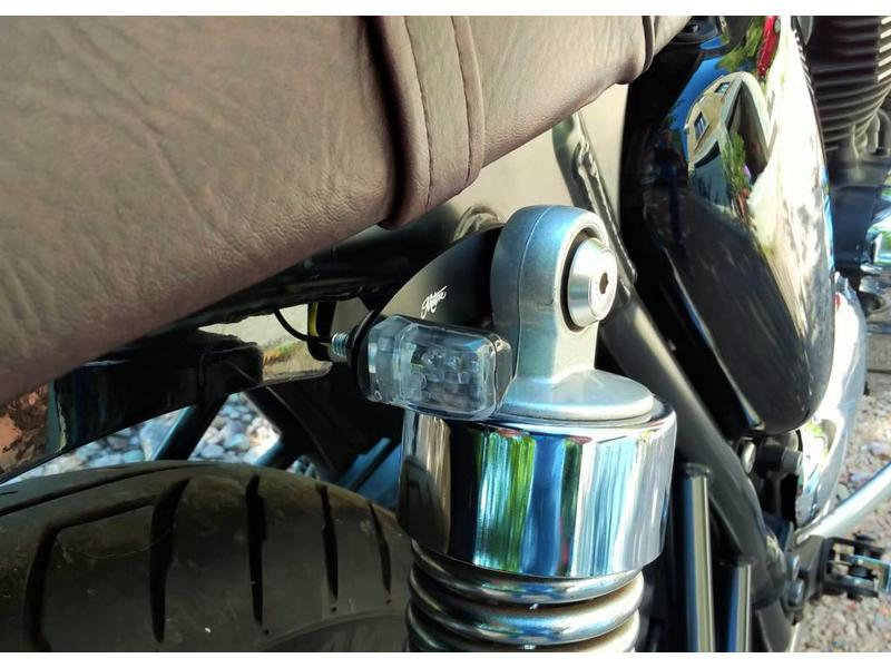 Motone Rear Indicator Brackets for Triumph motorbikes