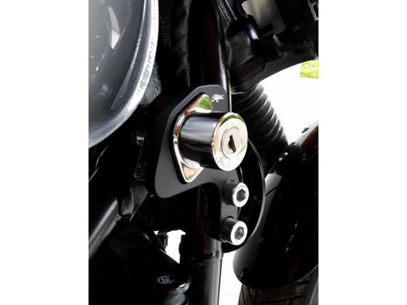 Motone Ignition Key Relocation Kit for Triumph Twins